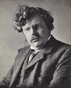 Photo of G. K. Chesterton