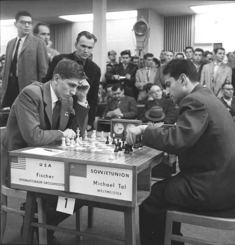 Bobby Fischer, Chess and the Cold War
