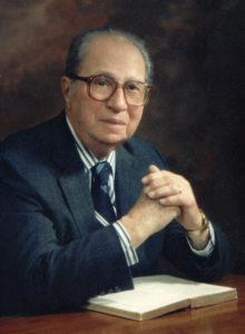 Photograph of Mortimer Adler.