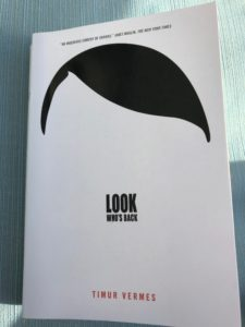 """Photo of the cover of the book """"Look Who's Back,"""" by Timur Vermers."""