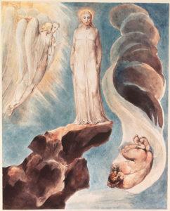The Third Temptation, by William Blake.